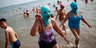 Facekini chine