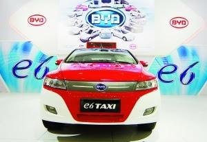 Taxis électriques BYD