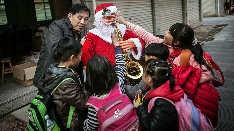 Noël en Chine