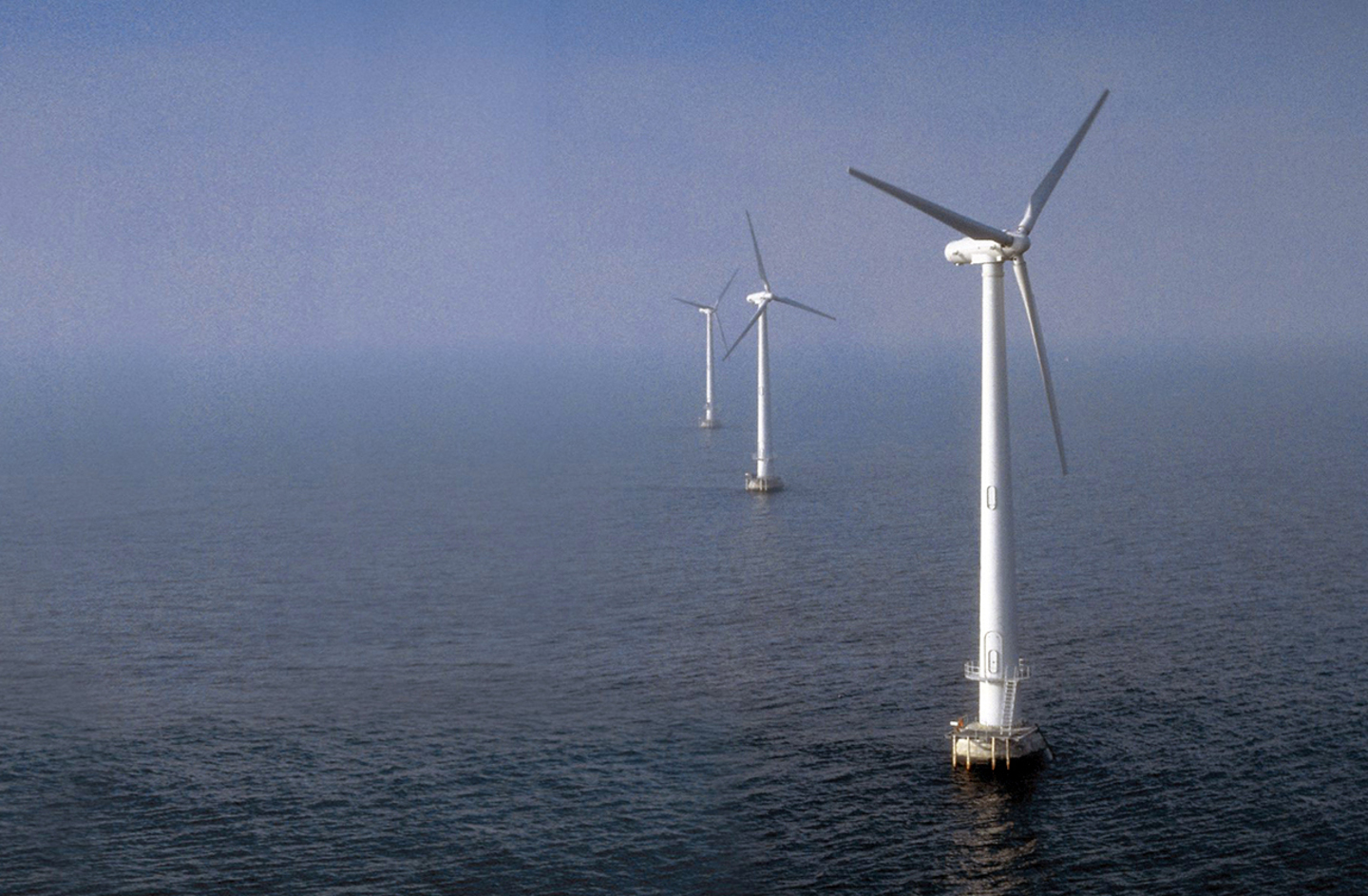 Offshore blades © LM Wind Power